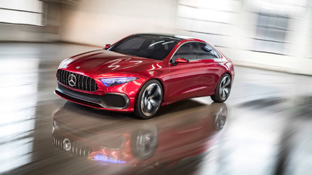 Mercedes Concept A Sedan Shows An Attractive Future In Shanghai