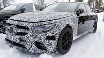Mercedes-AMG E63 spied up close