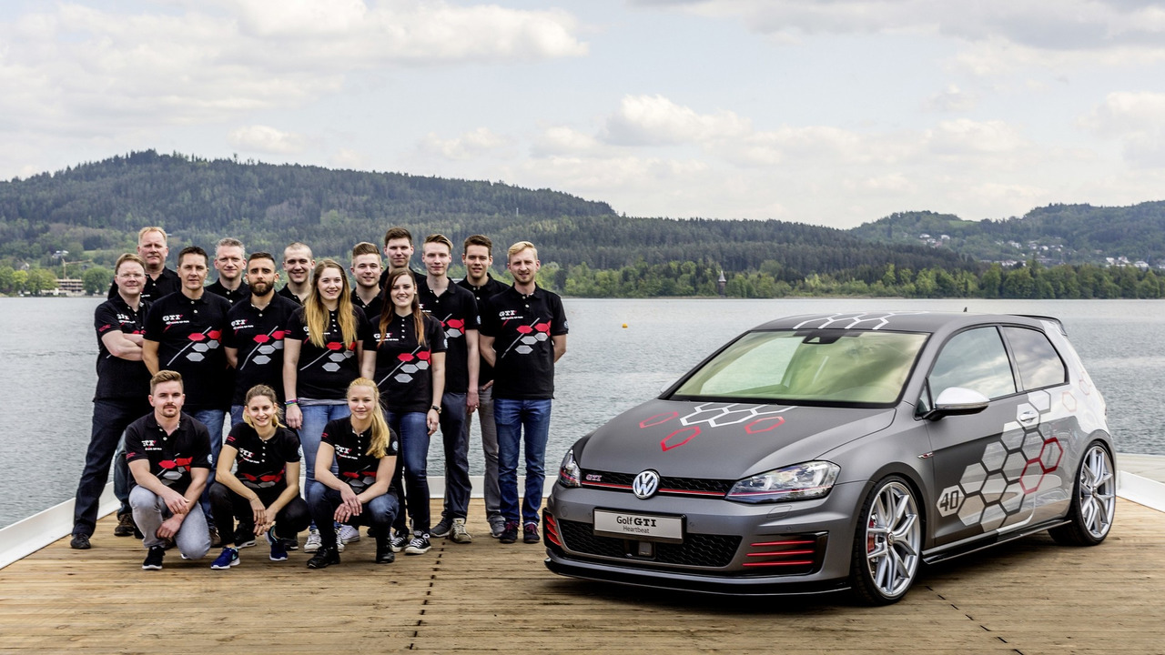 Merveilleux Apprentice Built VW Golf GTI Heartbeat