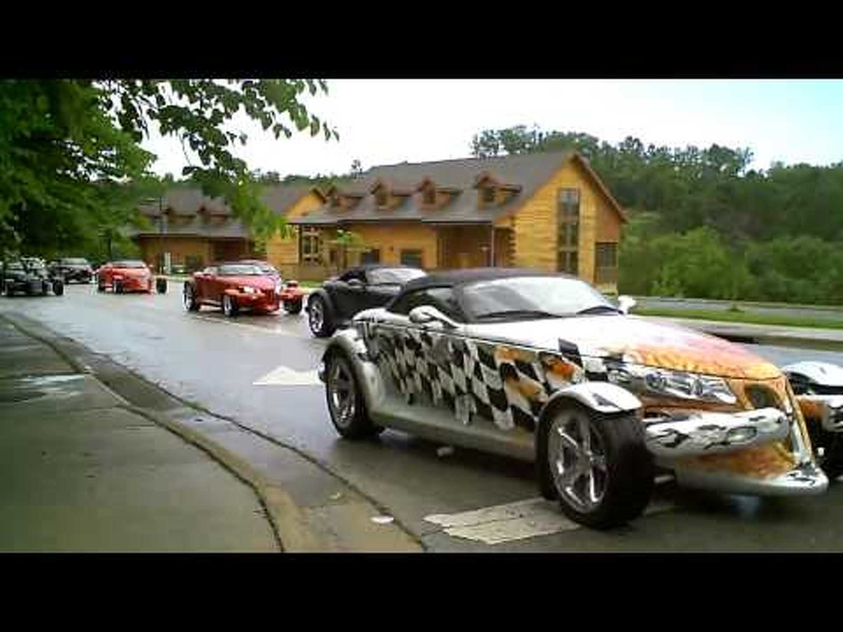 Plymouth Prowler Street Cruise