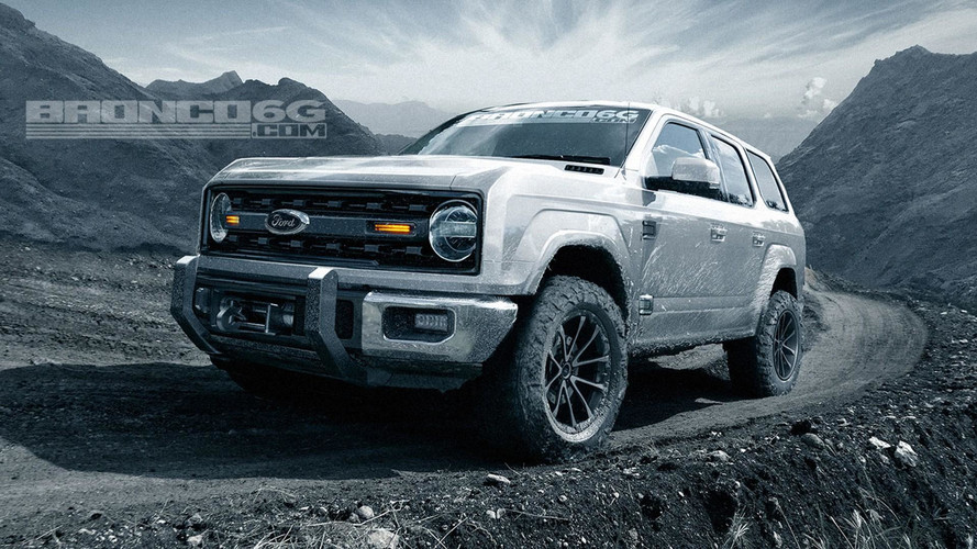 2020 Ford Bronco Sharply Rendered As Four-Door, Removable Roof