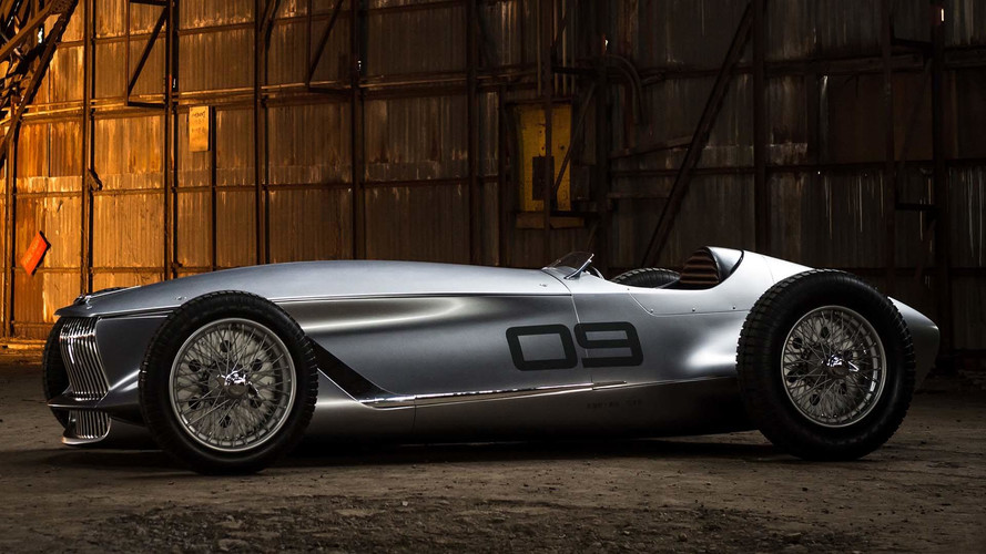 Infiniti 'retro prototype' revealed before Pebble Beach debut