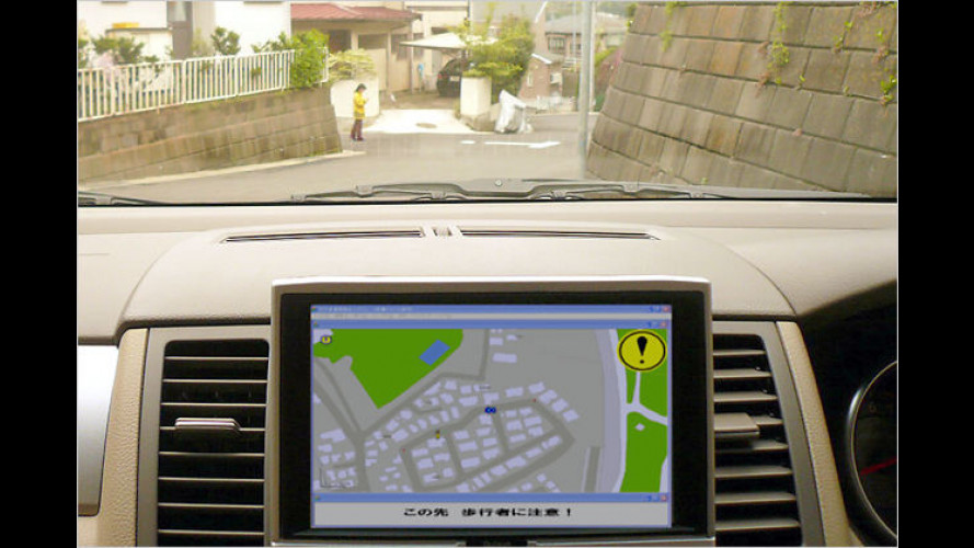 Nissan: GPS-Handys schützen Fußgänger vor Unfällen