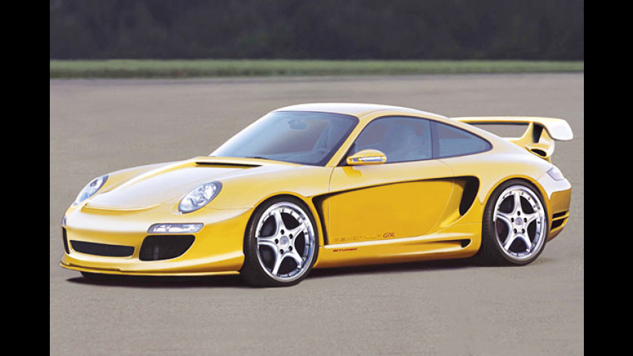 Balla-Balla-Porsche: Fahrmaschine mit Mega-Power