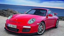 New Porsche 911 GT3 facelift 2010