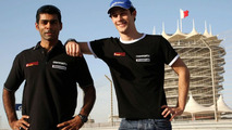 Karun Chandhok (IND), Bruno Senna (BRA), Hispania Racing F1 Team, Bahrain Grand Prix, 10.03.2010, Sakhir, Bahrain