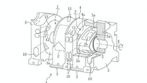 Mazda direct injection rotary engine patent diagram