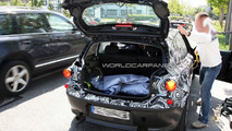 2011 BMW 1-Series up close spy photo