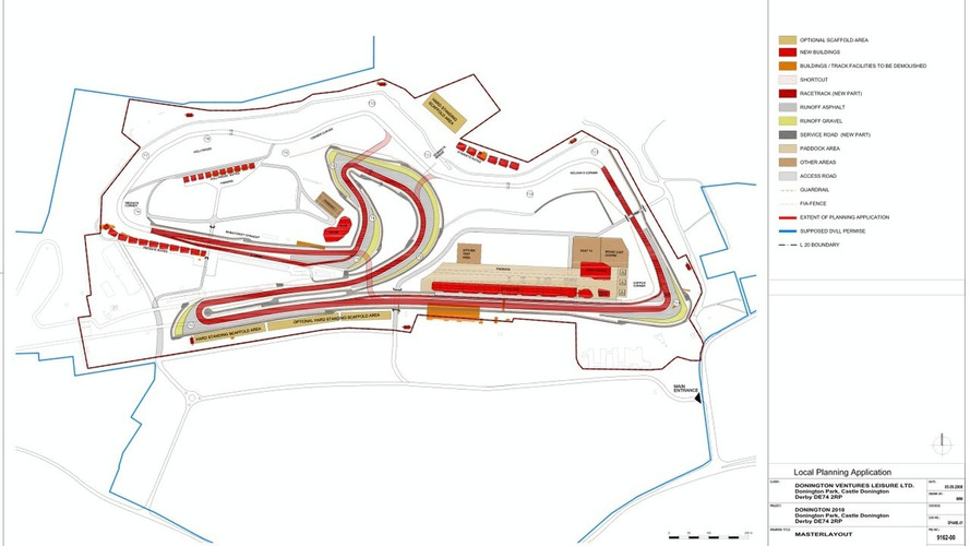 Donington circuit 110m euro upgrade approved - British GP in 2010