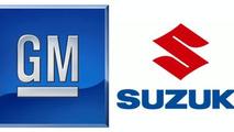 GM Suzuki logos