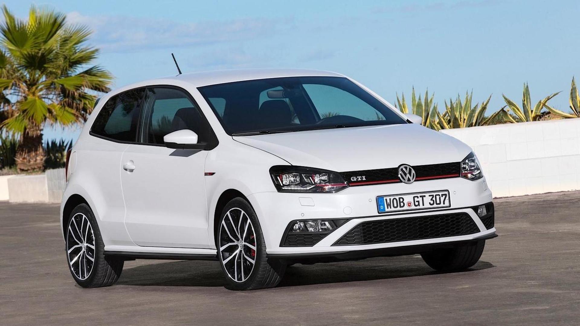 Volkswagen Polo GTI. Рестайлинг 2014