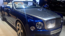 Bentley Grand Convertible concept at 2014 Los Angeles Auto Show