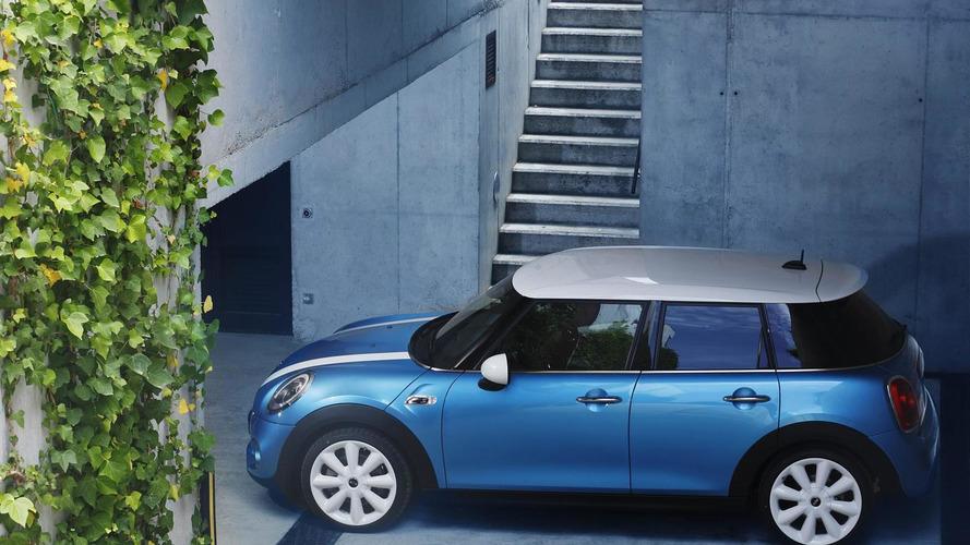 MINI five-door hatchback officially revealed