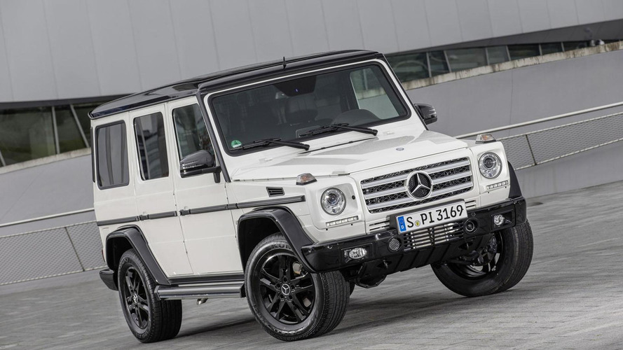 Mercedes-Benz confirms G-Class will keep the boxy look, update coming 2016