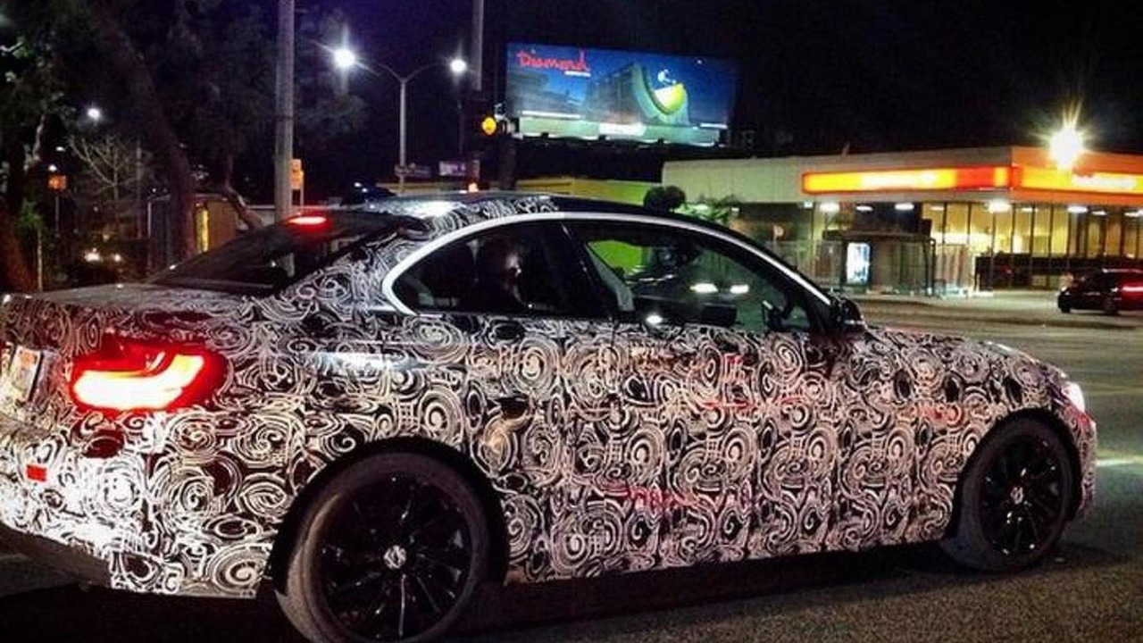 BMW M2 spy photo (not confirmed)