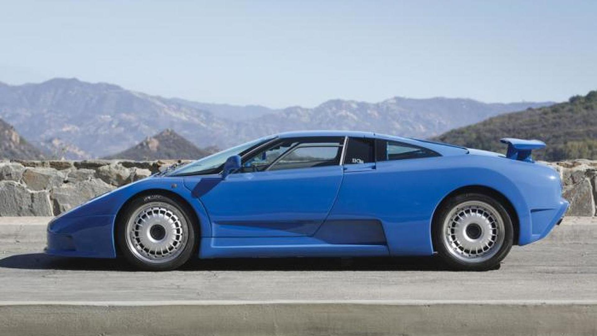 Коллекционный Bugatti EB110 GT