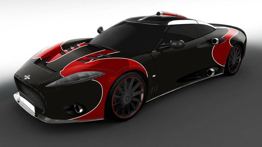 Spyker C8 Aileron LM85