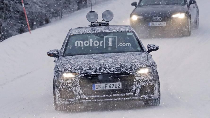Photos espion Audi A6 2018
