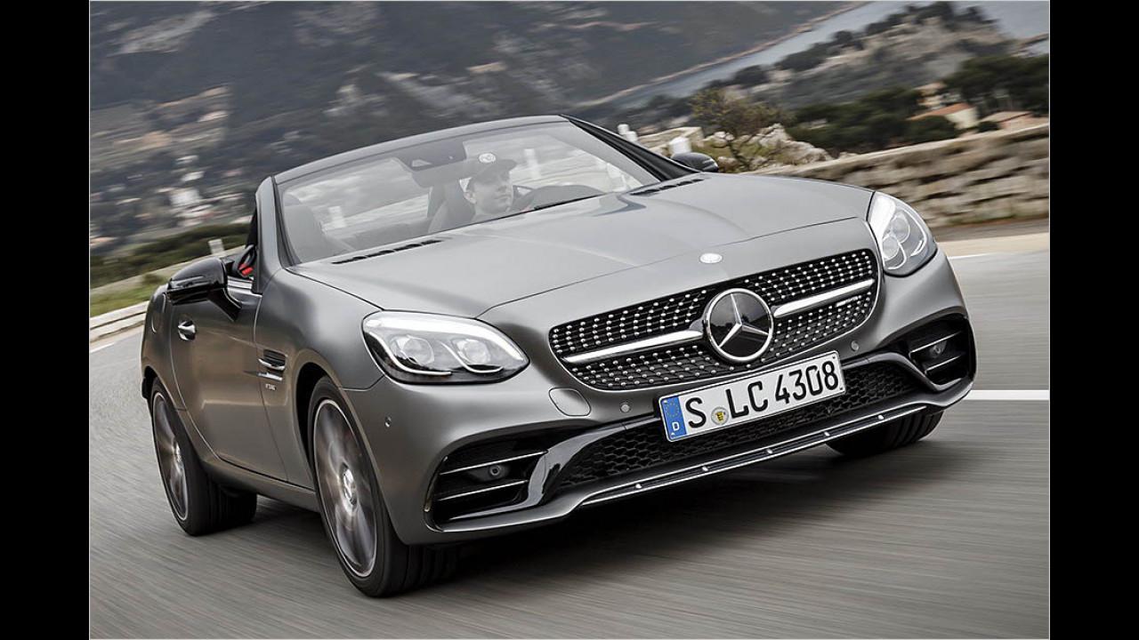 Die besten Autos bis 3 Jahre: Mercedes SLK/SLC