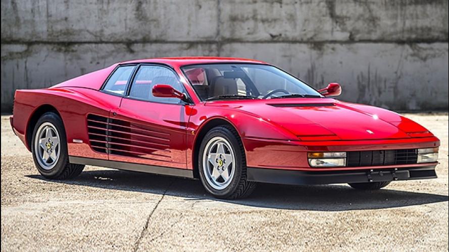 Ferrari Testarossa, icona del Cavallino anni '80