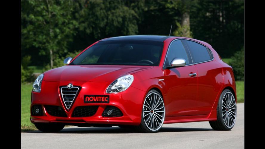 Stärker als mit Sechszylinder: Alfa Giulietta mit 261 PS