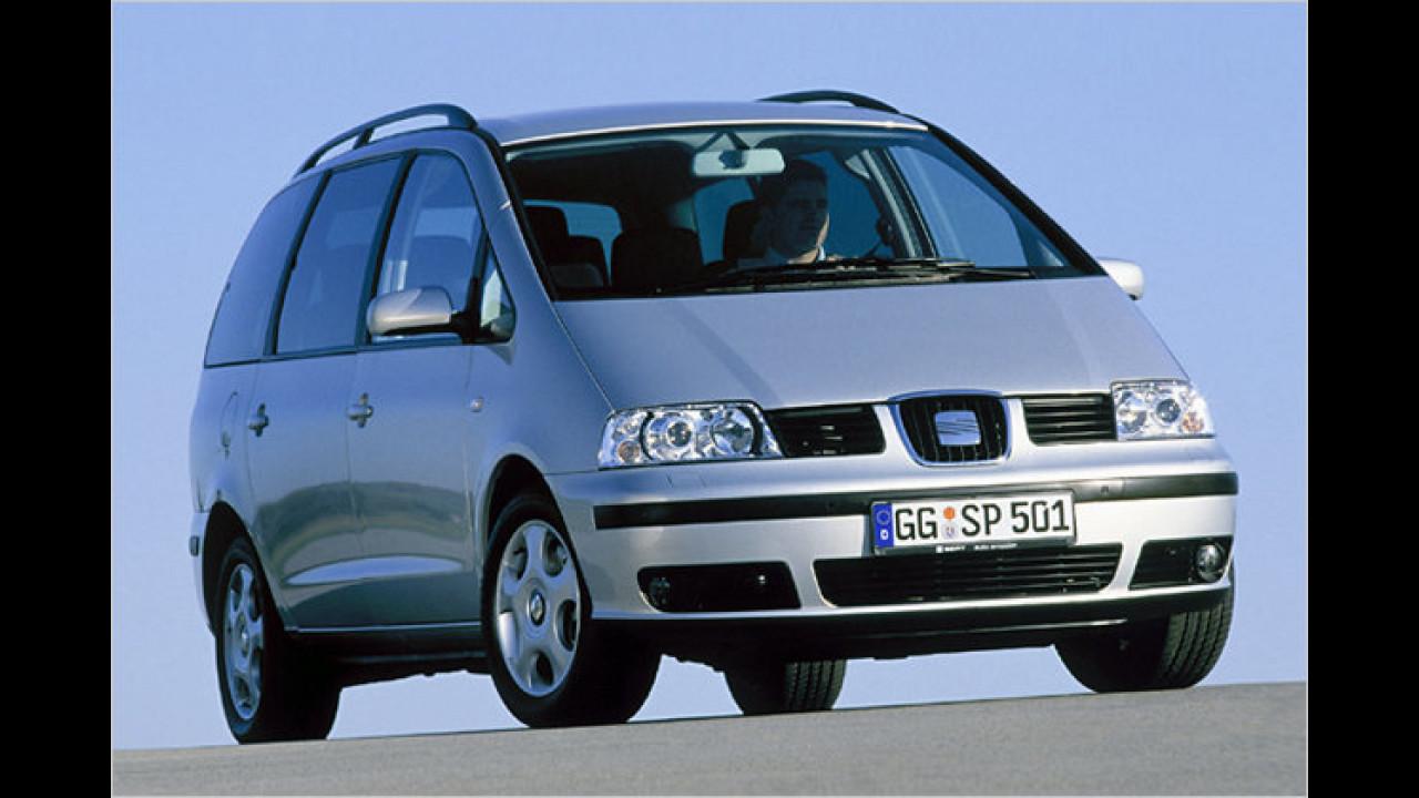 Vans, 3. Platz: Seat Alhambra
