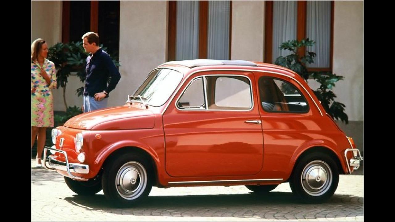 Platz 17: Fiat 500 (9,7 Prozent)