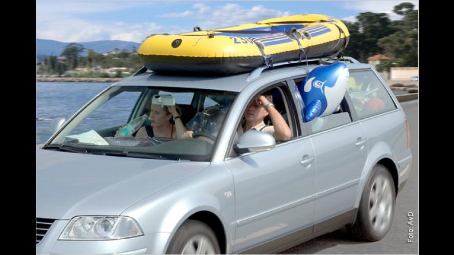 Mit dem Auto in die Sommerferien