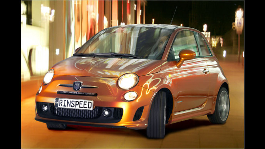 Rinspeed E2: Abarth 500 wahlweise mit 60 oder 160 PS