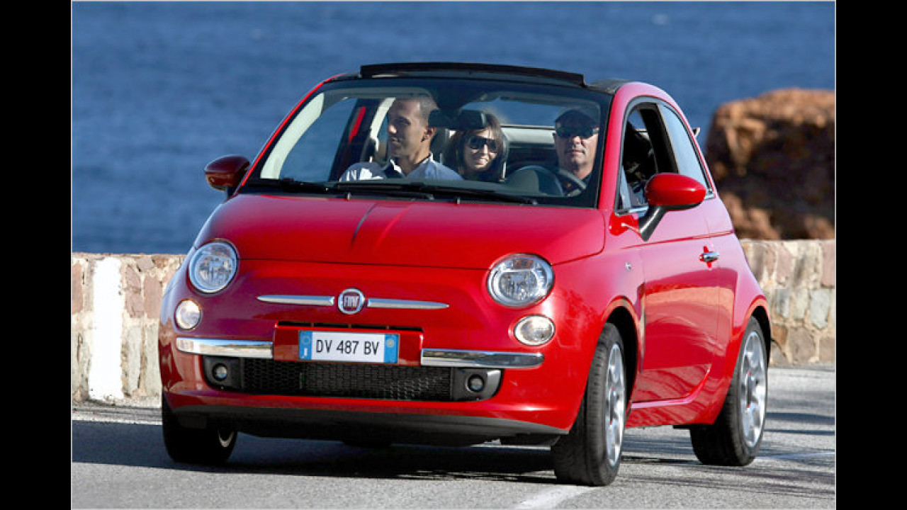 Fiat 500C 1.2 8V Start&Stopp Pop Dualogic