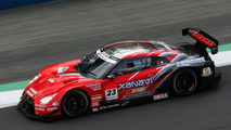 Nissan GT-R #23 at Okayama International Circuit
