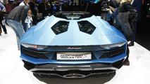 2018 Lamborghini Aventador S Roadster live in Frankfurt