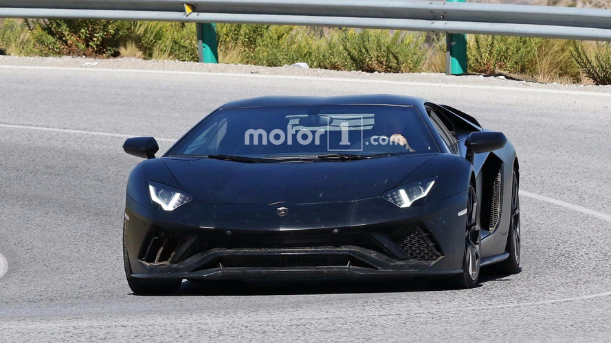 Lamborghini Spied Testing Hotter Aventador