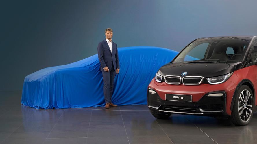 BMW Teases Frankfurt Surprise With Possible Sleek i5 Sedan
