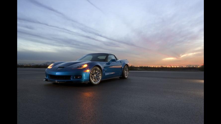 I numeri della Corvette ZR1