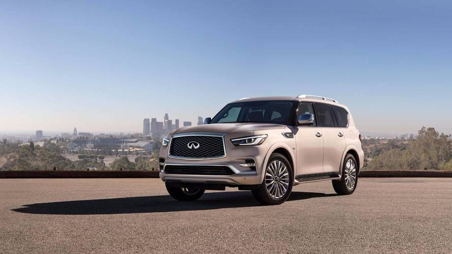 Most Expensive 2018 Infiniti QX80 Costs $86,265