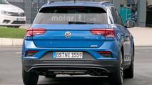 Volkswagen T-Roc R casus fotoğrafları