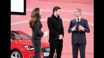 Justin Timberlake presenta Audi A1 al Salone di Ginevra 2010