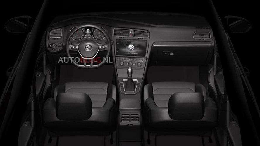 2017 VW Golf, Teramont, ve 2018 CC iç mekan