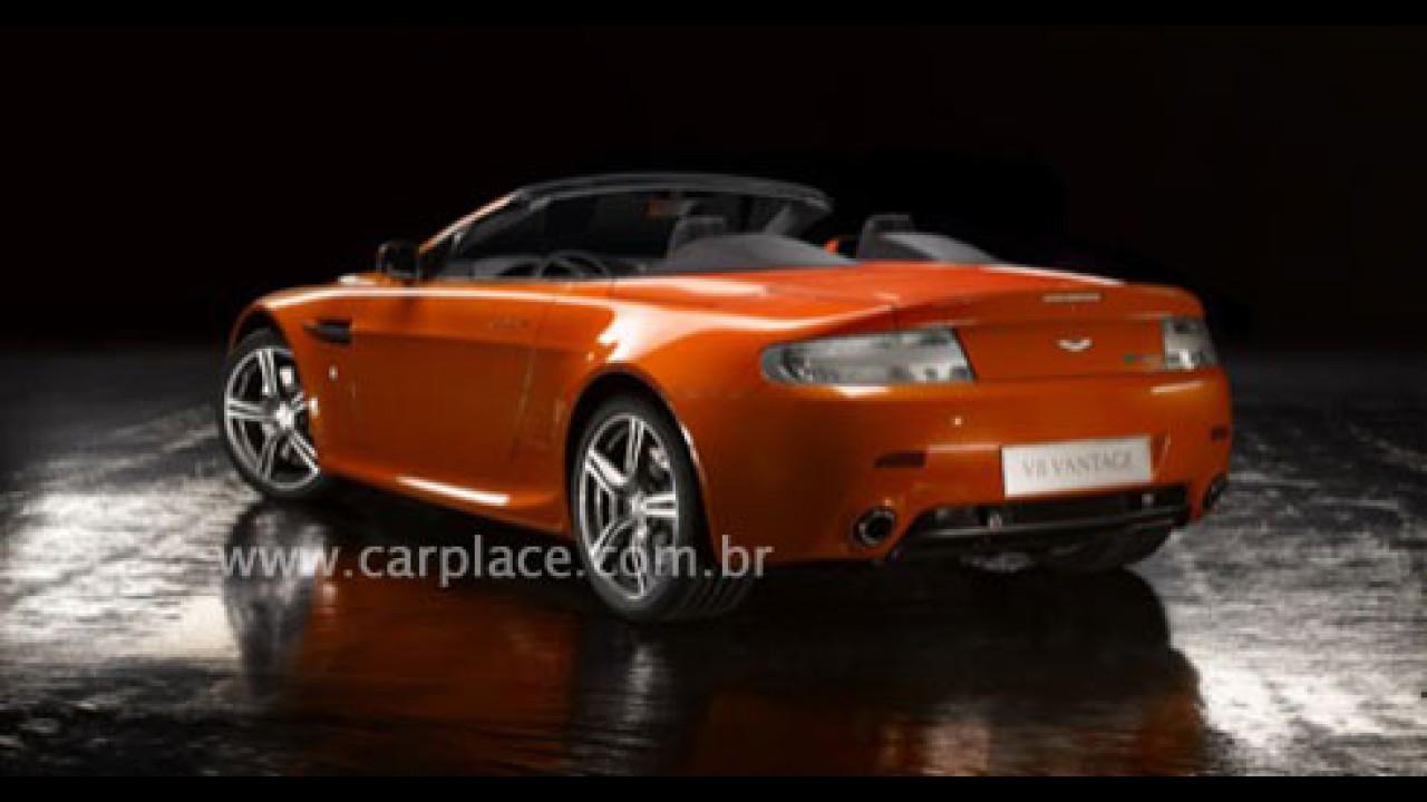 Aston Martin V8 Vantage N400 Roadster - Fotos Oficiais