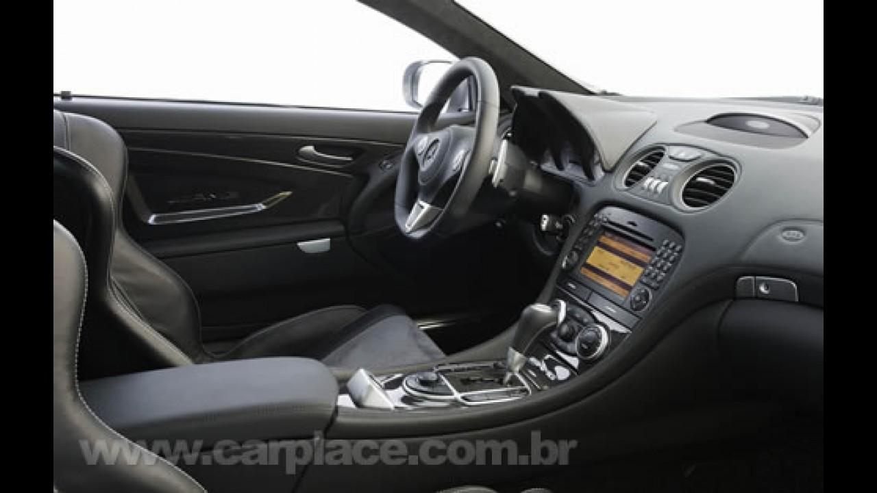 Mercedes-Benz revela o novo SL65 AMG Black Series com motor V12 de 661cv