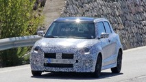 2017 Suzuki Swift Sport spy photos