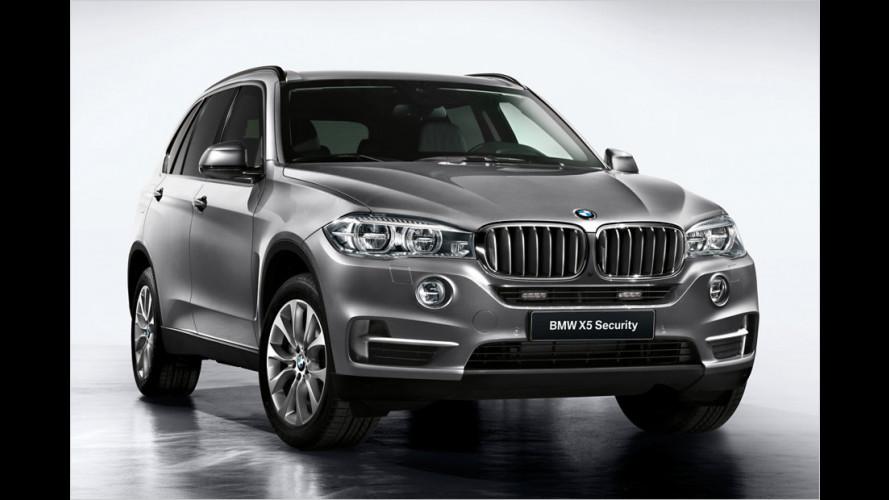 BMW X5 Security Plus: Sicher im SUV