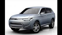 Zwei Mitsubishi-Premieren