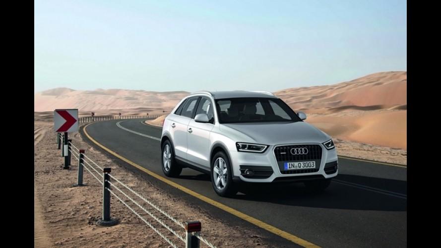 Audi Q3 será mais barato que Range Rover Evoque na versão de entrada