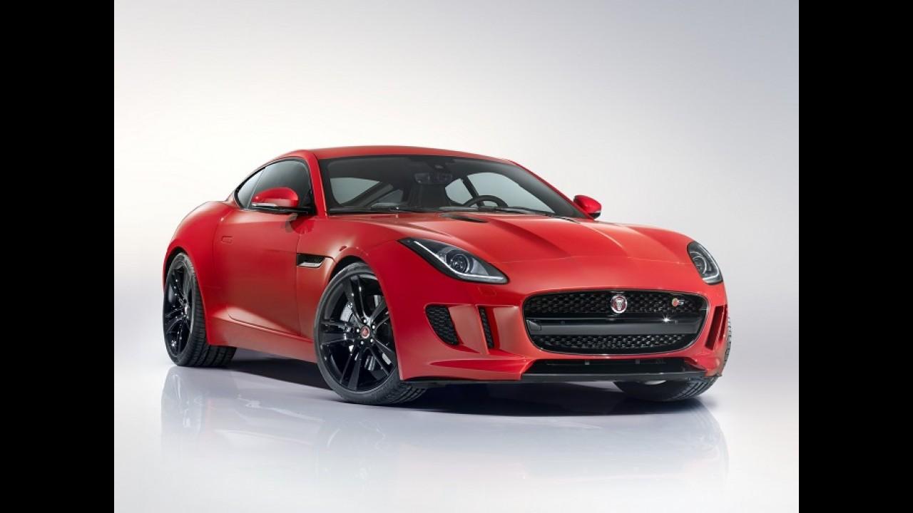 Jaguar F Type Coupe é Uma Das Estrelas Do Salão De Los Angeles