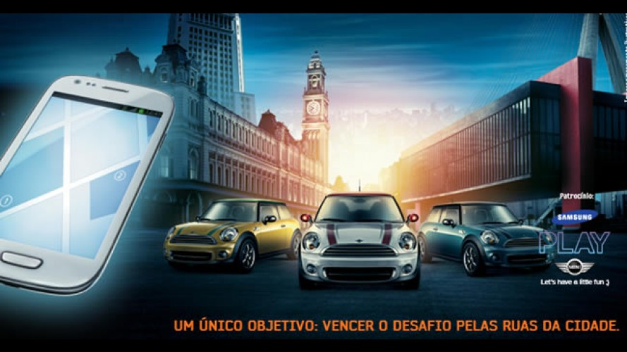 Samsung e MINI realizam desafio urbano em São Paulo