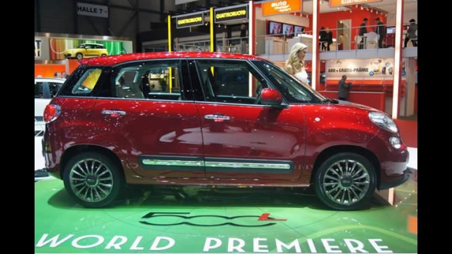 Salão de Genebra: Fiat 500 L é lançado oficialmente