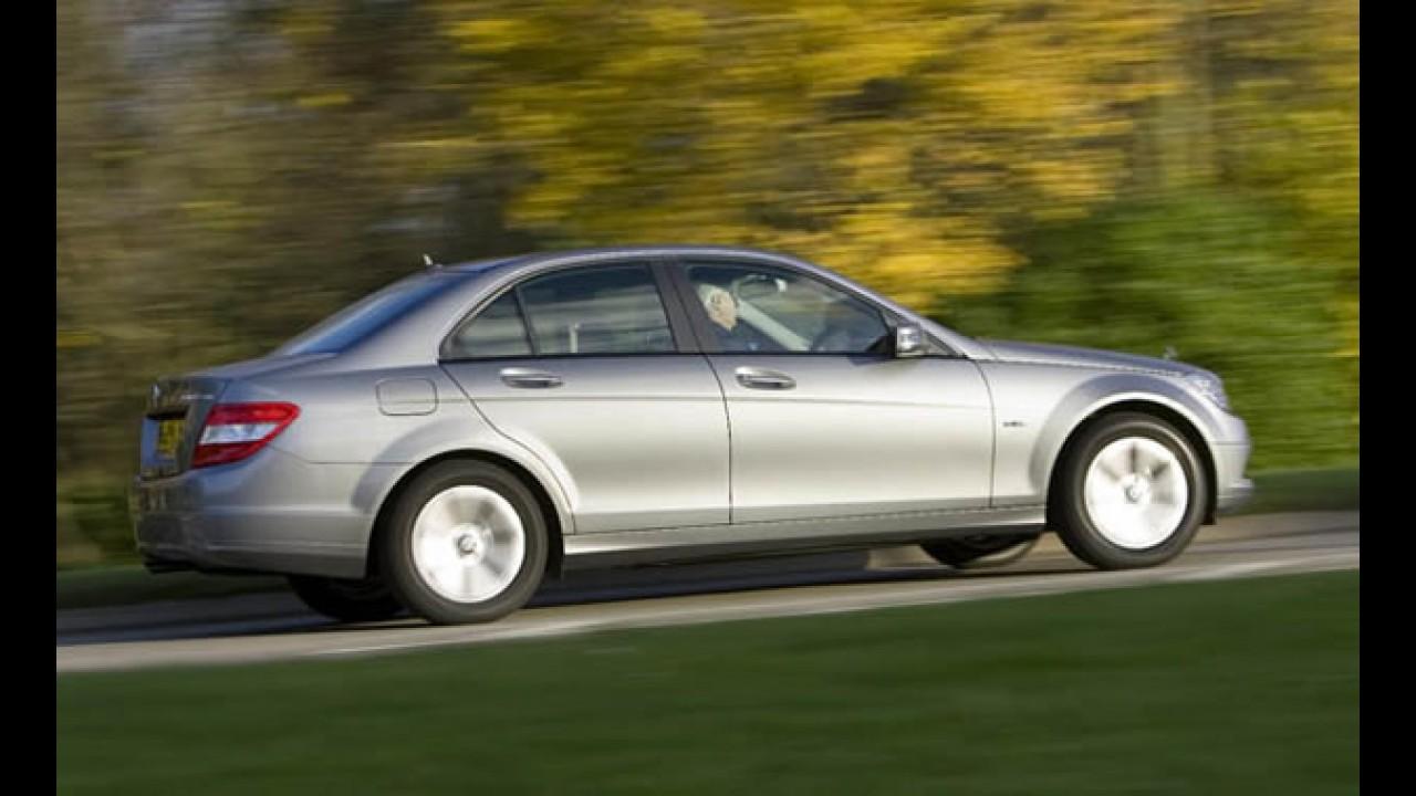 Mercedes C180 CGi Bluefficiency: preços partem de R$ 114.900