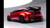 Salão de Genebra: novo Honda Civic Type-R Concept é um carro de corrida nas ruas